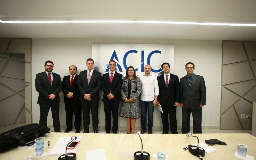Membros do IPRADE participam de debate na Acic-Cascavel