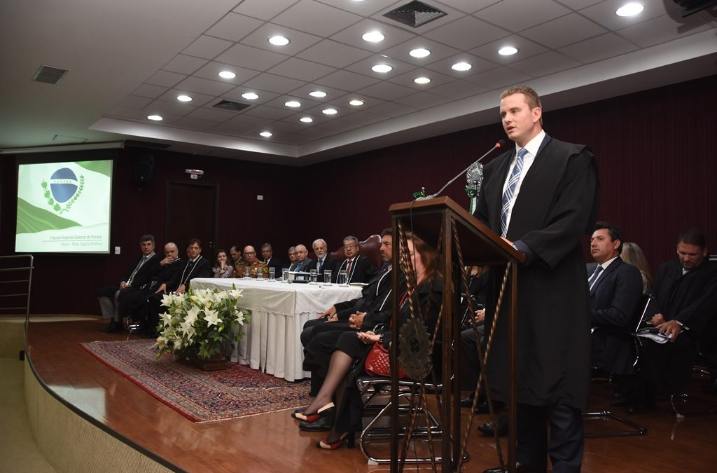 IPRADE participa de cerimônia de posse da nova cúpula do TRE-PR
