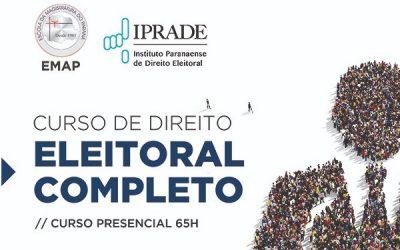 IPRADE e EMAP lançam curso completo de Direito Eleitoral