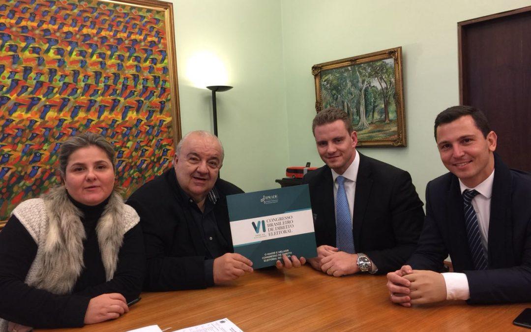 IPRADE convida prefeito de Curitiba para VICBDE