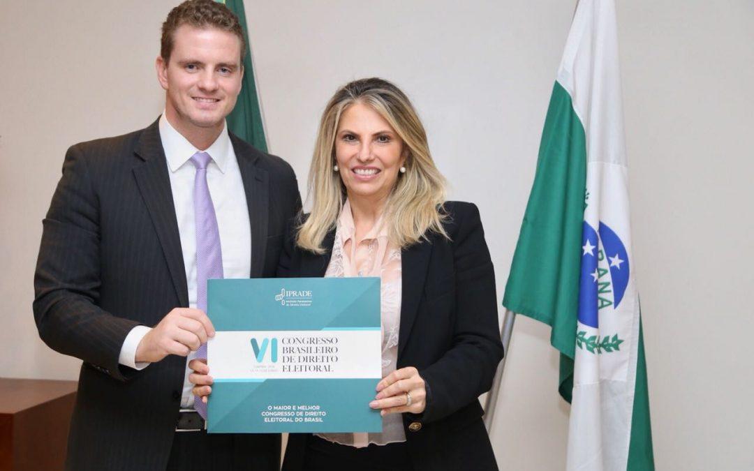 Cida Borghetti confirma participação no VI CBDE