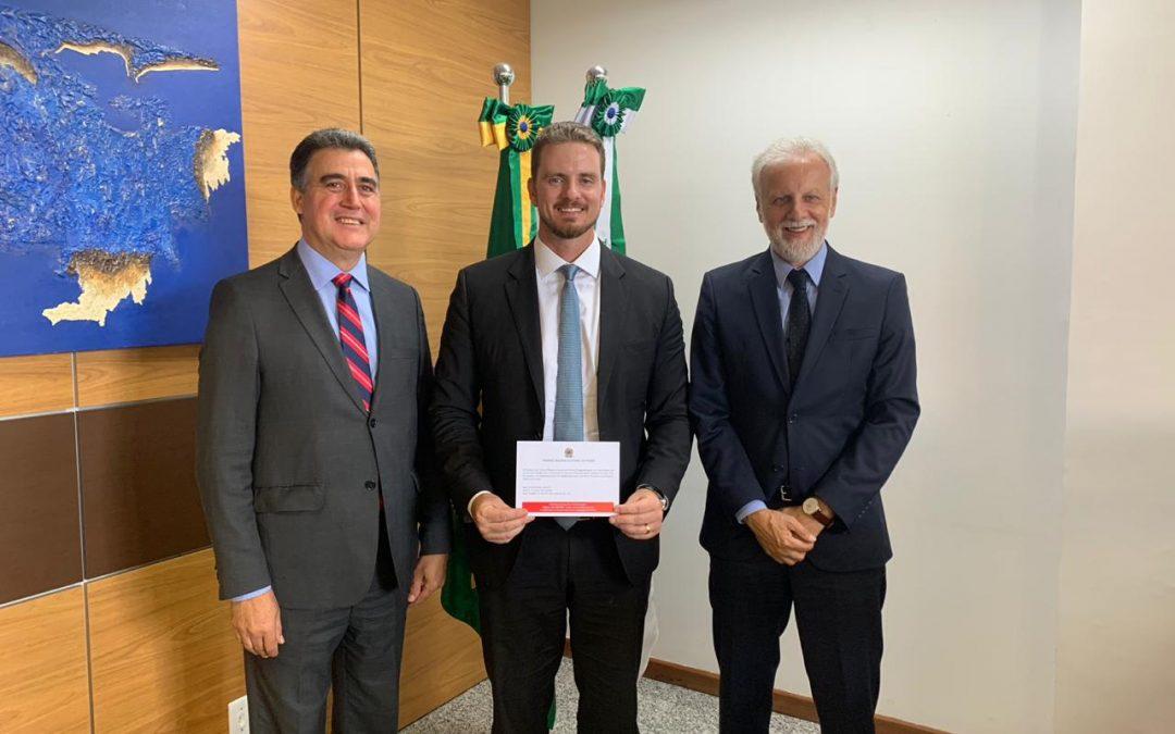 IPRADE recebe convite para posse da nova diretoria do TRE-PR