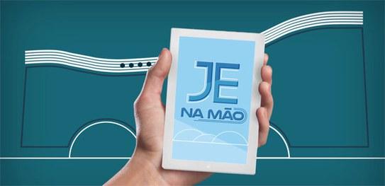 """TSE lança programa """"JE na mão"""""""
