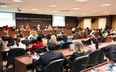 Advogadas debatem a Reforma Política por Vozes Femininas na OAB Paraná