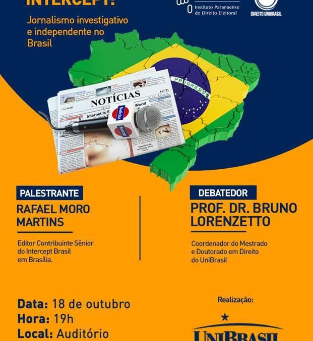 Iprade apoia debate sobre jornalismo investigativo no Brasil