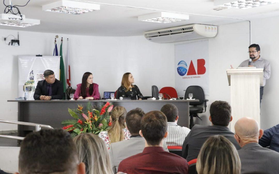 Iprade na Caravana Eleitoral da OAB do Piauí