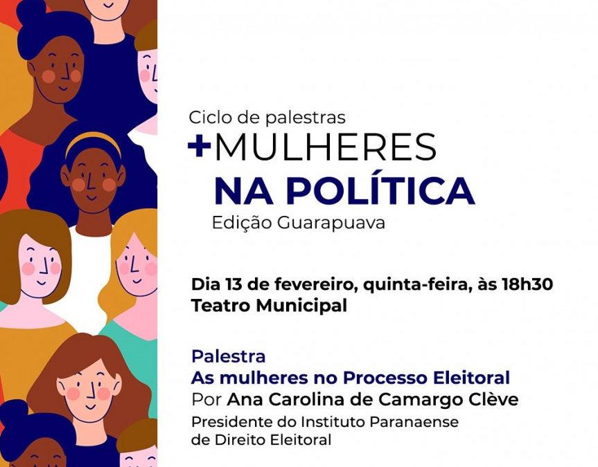 Iprade e Procuradoria da Mulher da Alep promovem ciclo de palestras no interior do Paraná