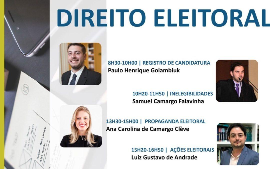 Direito Eleitoral em debate em Foz do Iguaçu
