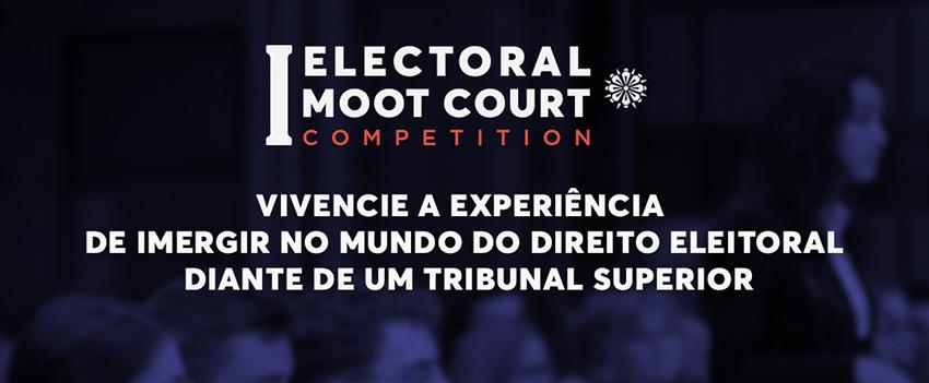 Inscrições para Julgamento Simulado em Direito Eleitoral vão até dia 30