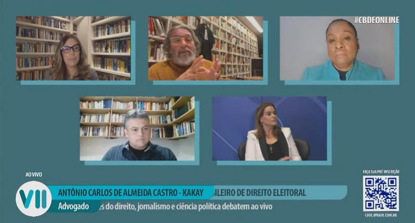 Debate sobre direito e mídia lança o VII Congresso Brasileiro de Direito Eleitoral