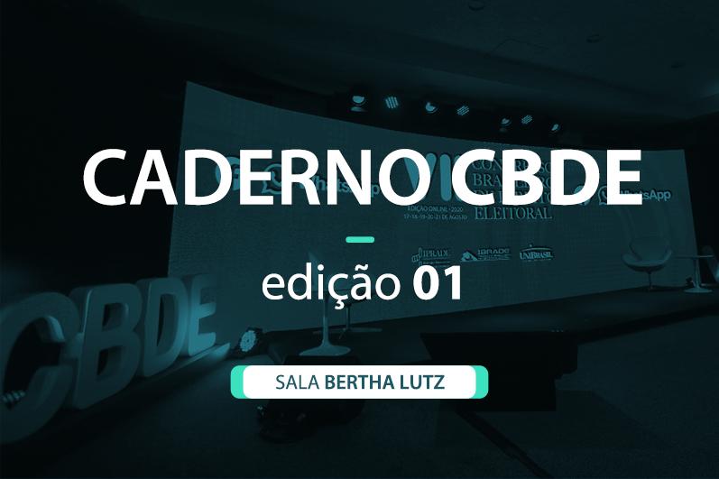 Caderno VII CBDE 01 | Sala Bertha Lutz