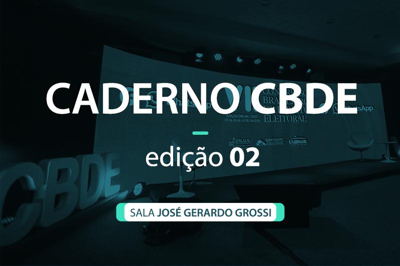 Caderno VII CBDE 02 | Sala José Gerardo Grossi