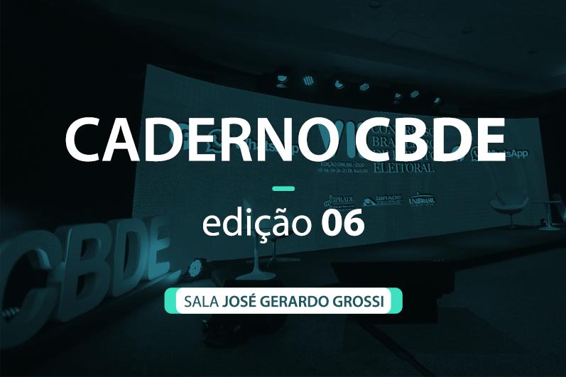 Caderno VII CBDE 06 | Sala José Gerardo Grossi