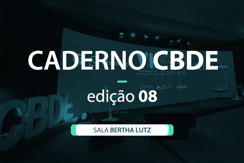Caderno VII CBDE 08 | Sala Bertha Lutz