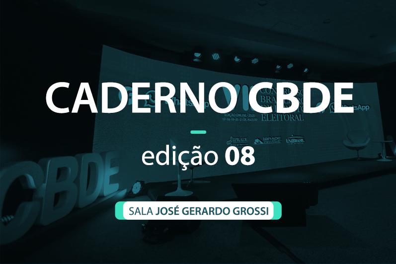 Caderno VII CBDE 08 | Sala José Gerardo Grossi