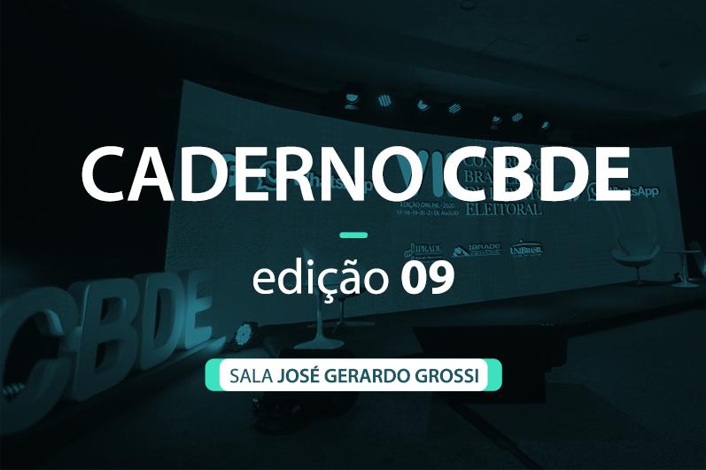 Caderno VII CBDE 09 | Sala José Gerardo Grossi