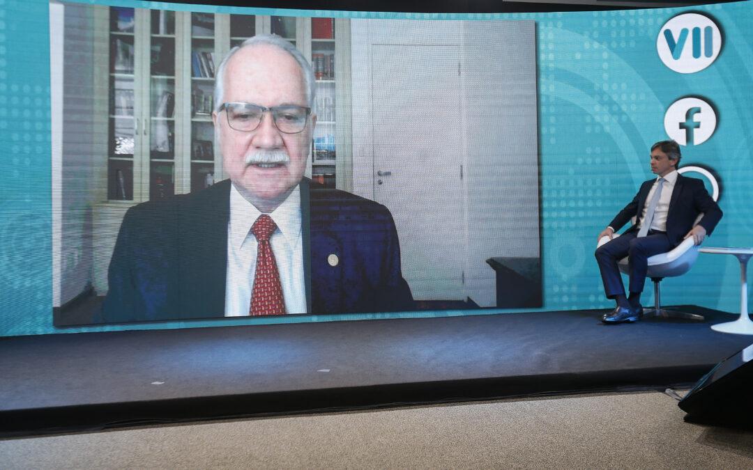 Ministro Fachin abre VII CBDE e fala sobre recessão democrática no Brasil
