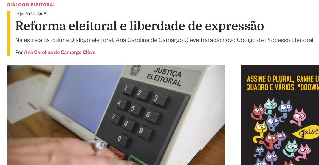 Iprade estreia coluna no portal Plural Curitiba
