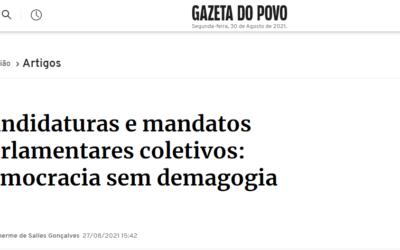 Artigo publicado na Gazeta do Povo